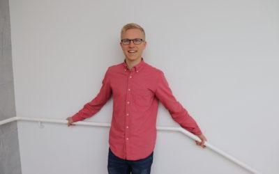 """""""Työssäni parasta on, että ongelma jota on lähdetty ratkaisemaan, on todellinen"""" -Aatu Liikanen"""