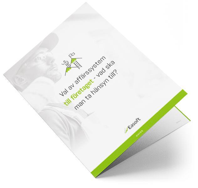 Easoft Oy / Toiminnanohjausjärjestelmän valinta asennusliiketoimintaan - mitä ottaa huomioon?